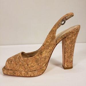 Shoes - Boutique 58 Platform, open toe and heel pump.